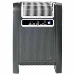 Lasko 760000 Cyclonic Ceramic Heater - Ceramic - Electric