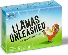 TeeTurtle Llamas Unleashed Game by Unstable Unicorns