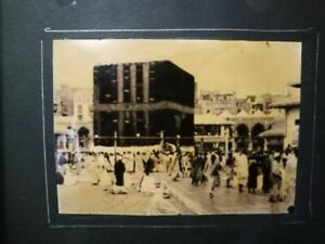 Mecca Makkah Kaaba Jabal Arafat Photograph Vintage Old Reprint Rare 24 Pics