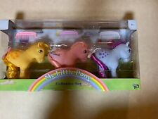 MY LITTLE PONY COLLECTOR SET 1983 COLLECTION Butterscotch Cotton Candy Blue Bell