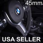 NEW ! BMW Steering Wheel Emblem Badge Sticker Logo Decal Badge 45MM White Blue