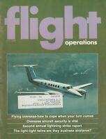 Flight Operations (Jul 1978) Flying Overseas, Lighting Strikes, Light Twins