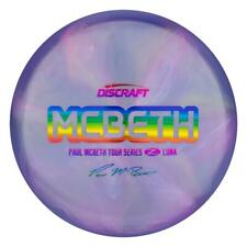 NEW Discraft Disc Golf Z Swirl McBeth Luna Tour Series **Choose Weight/Color**