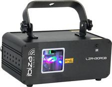 IBIZA LZR430RGBDMX SHOW LASER 430mW RGB FERNBEDIENUNG EVENT EFFEKT DJ MUSIK DMX