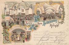 AK Monaco NUOVO Hofbräu casa lito GEL 1899