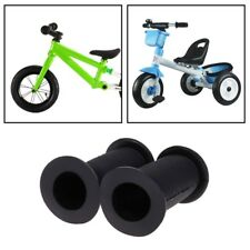 1Pair Bicycle Grips Children Bike Tricycle Scooter Non Slip Thread Rubber Handle