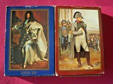 Two Playing Cards packs Napoleon & French Kings . Lot #3 Complete Sell 4 Charity