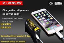 Klarus CH1 Li-ion Ni-MH Battery Smart Charger USB Power Bank AA  AAA C 18650