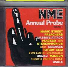 MANIC STREET PREACHERS / MASSIVE ATTACK / AIR + Annual Probe 1 NME CD 1999