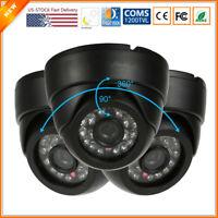 NTSC 1200TVL CMOS 3.6mm Analog Home Security Camera Indoor BNC Dome Video CCTV