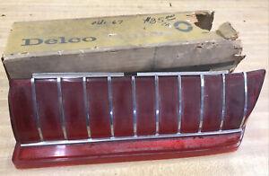 1967 Oldsmobile Delco Guide Right Tail Light Lens SR9
