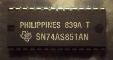 2 Each Texas Instruments TI SN74AS851AN 1 of 16 Data Selector/Multiplexer NEW!