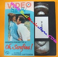 VHS film OH SERAFINA! Renato Pozzetto VIDEO STAR Lattuada SKORPION (F87) no dvd