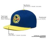 Club America Snapback Soccer Cap Hat Licensed Yellow Gorra Aguilas New With Tags