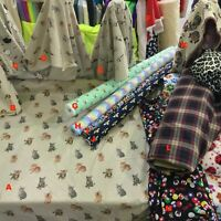 Animals Bespoke Dress Craft Fabric Curtains Quilting Cotton Curtain Upholstery