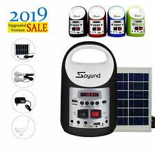 Soyond Portable Solar Generator Solar Powered Electric Generator Kit Blue