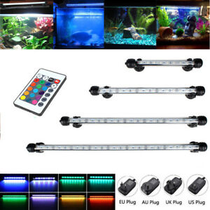 Aquarium Fish Tank Pond 5050 RGB LED Strip Lights Bar Lamp Submersible Lights UK