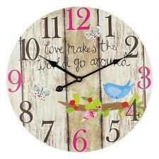 """NEW!! """" What Makes The World Go Round Clock """""""