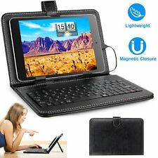Slim PU Leather Case Cover W/ Stand Keyboard USB 2.0 For 7.9