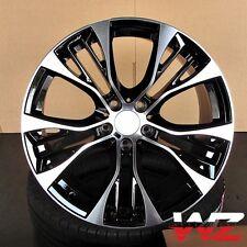 """20"""" Style 599 Wheels fits BMW X5 X6 X5M X6M xDrive Rims Black Machined Finish"""