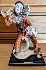 Giuseppe Armani Figurine Clown Little Pierrot 1991 Collector Society Mint