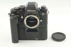 *NEAR MINT* NIKON F3HP HP SLR 35mm Film Camera w/Moter Drive MD-4 From Japan