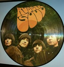 THE BEATLES - RUBBER SOUL - 180 GRAM PICTURE DISC VINYL LP EUROPEAN IMPORT NEW