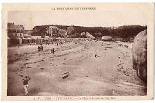 CPA 22 - TREGASTEL PRIMEL (Côtes d'Armor) - 7639. La Plage. Le coin de Coz-Pors