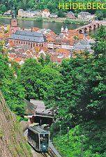 Cartolina: stato funivia: montagna linea ferroviaria ad Heidelberg 2, schloßauffahrt