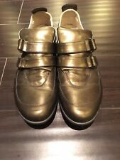Kenneth Cole Men Leather Shoes, Size 9, Made in ITALY, Rare Style