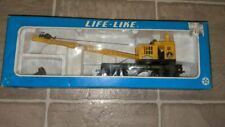 Life-Like Crane Car With Working Hook & Boom  With box