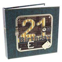 Birthday Photo Album - Age 21  - 21st Keepsake Gift NEW