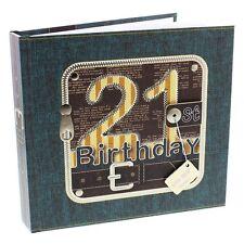 Birthday Photo Album - Age 21  - 21st Keepsake Gift NEW  25580