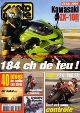 MOTO REVUE 3596 KAWASAKI ZX-10 R HONDA CBR 1000 RR 600 FS HARLEY DAVIDSON 1450