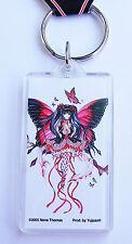 Red Hearts Faerie Anime Fairy Keychain Faery Key Chain Nene Thomas keyring