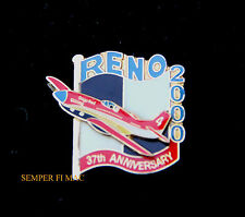 2000 RENO AIR DAGO RED NATIONAL CHAMPION HAT LAPEL PIN UP P-51D MUSTAND RACE WOW