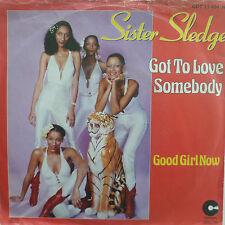 "7"" 1979 PARTY culto! Sister Sledge Got To Love STILL"