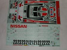 Tamiya 1/10 RC - Sticker Nissan R390 GT1 (58203 Vintage) 24h Le Mans - New