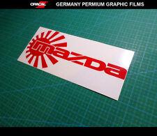 JDM LOGO MAZDA 3 6 RX8 RX7 MX5 Decal vinyl Sticker #03