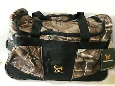 "Realtree Bushmaster 20"" Carry-On Rolling Duffle Bag - New With Tags"