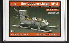 PLUSMODEL PLUS MODEL 290 - SOVIET AERO-SLEIGH RF-8 - 1/35 RESIN