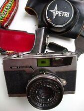 Petri 7 Green-O-Matic System Color Corrected Super 35mm Camera 45mm Lens