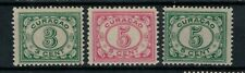 Netherlands Antilles Scott 51 - 53 in MH Condition