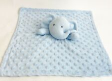 Nuby Elephant Blue Security Blanket  Lovey Plush Nuby Signature Collection