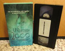 United Methodist Church pre Conference VHS convention prep 2000 split arguments