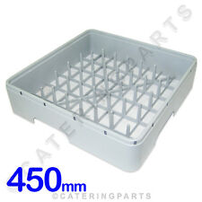 450 X 450 PEGGED DISH-WASHER GLASS-WASHER SQUARE PLASTIC PLATE BASKET 450MM IME