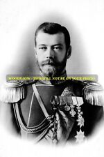"mm506 - Russia - Czar Nicholas II Romanov in uniform 1898 -  Royalty photo 6x4"""