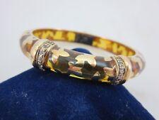 Angelique de Paris Farfalle Vermeil Bracelet 18K over Sterling White Topaz $570