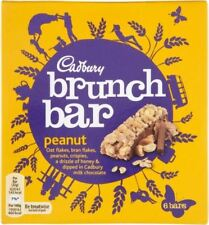 Cadbury Brunch Bar Peanut (6X32g) (Pack of 6)