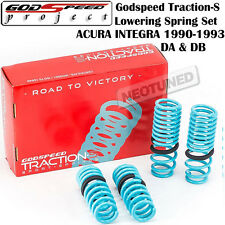 GODSPEED TRACTION-S LOWERING COIL SPRINGS SUSPENSION FOR 90-93 ACURA INTEGRA DA